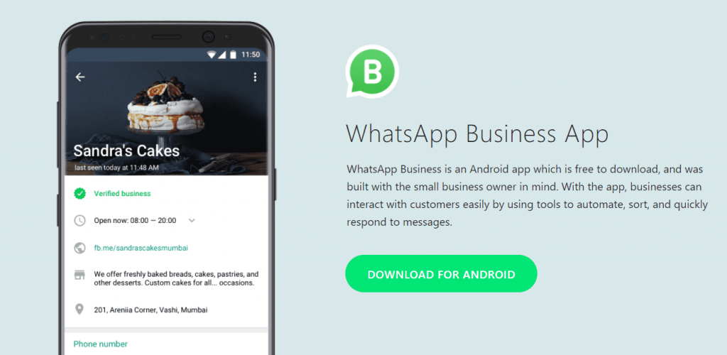 whatsapp business launched- Awrange Digital