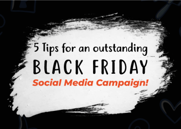 Tips on Black Friday for Social Media campaign
